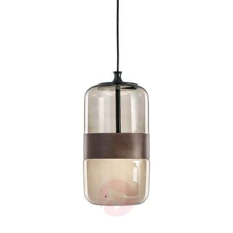 Murano glass pendant light Futura, 23 cm