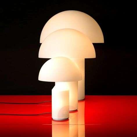 Murano glass table lamp Atollo, 35 cm