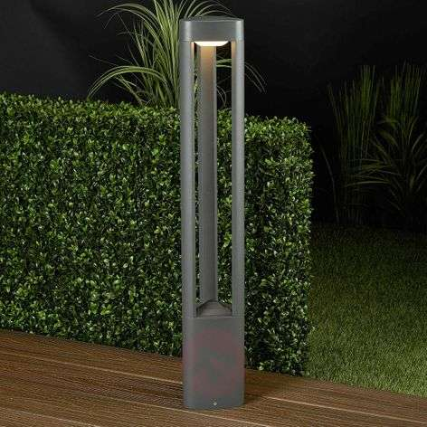 Nanna Aluminium Path Lamp with LEDs