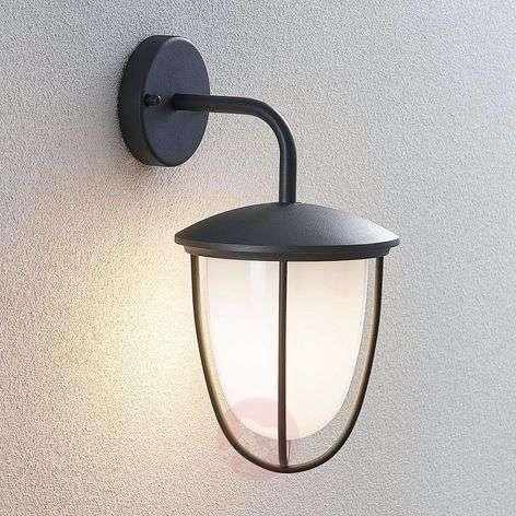 Narek outdoor wall light, dark grey