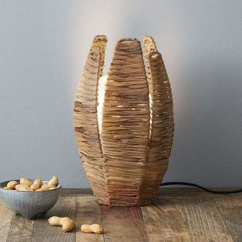 Natural table lamp MONGU