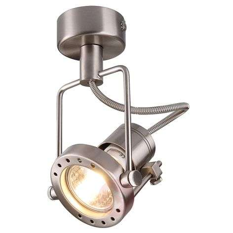 Nautic Spot Wall and Ceiling Light Matte Chrome
