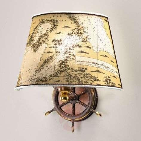 Nautica maritime wall light, one-bulb, 30cm