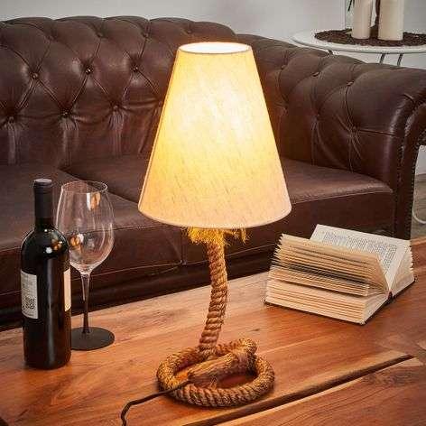 Nautical table lamp Victoria, 18 cm