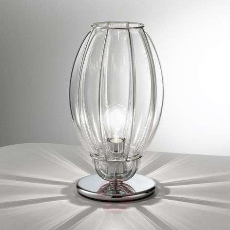 Nautilus table lamp, transparent
