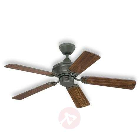 Nevada ceiling fan in walnut/cherry