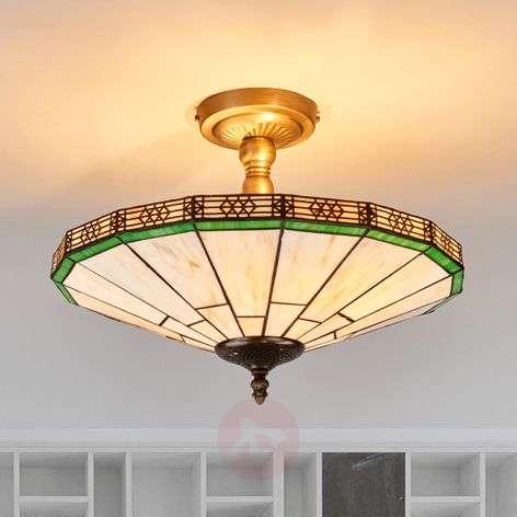 New York - Classic Tiffany-style ceiling light