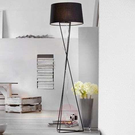 New York unusual fabric floor lamp