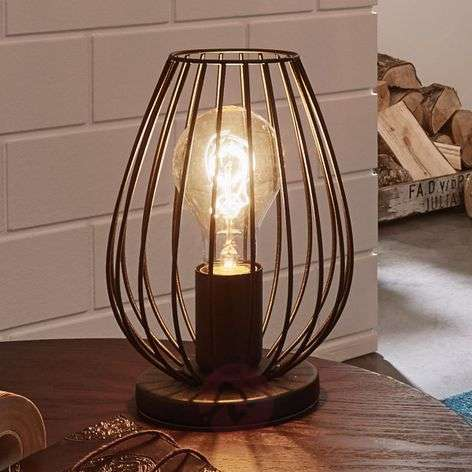 Newtown - a table lamp with a vintage look