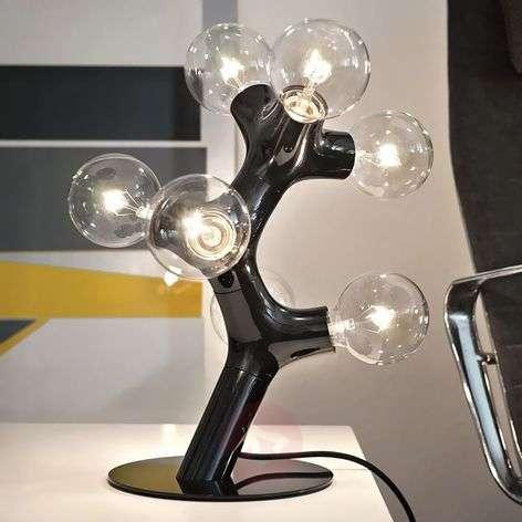 next DNA Table - designer table lamp, black
