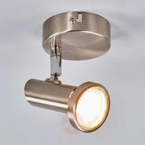 Nickel-coloured LED wall spotlight Cosma-9970069-31