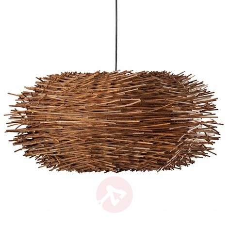 Nido natural rattan hanging light