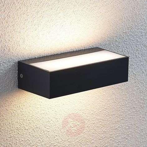 Nienke LED outdoor wall light, IP65, 17 cm