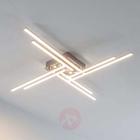 Nikan - LED ceiling lamp with eight rods