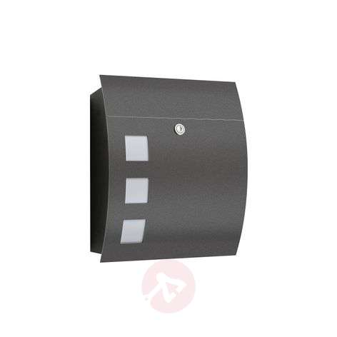Nila High Quality Letterbox, Anthracite-2011116-31