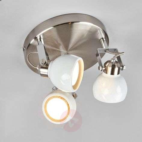 Nima three-bulb ceiling light, adjustable