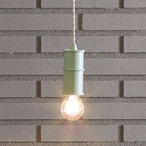 Nio - puristic hanging lamp in an industrial style