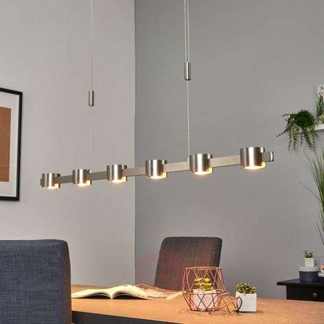 Niro - height-adj. LED pendant light, dimmable