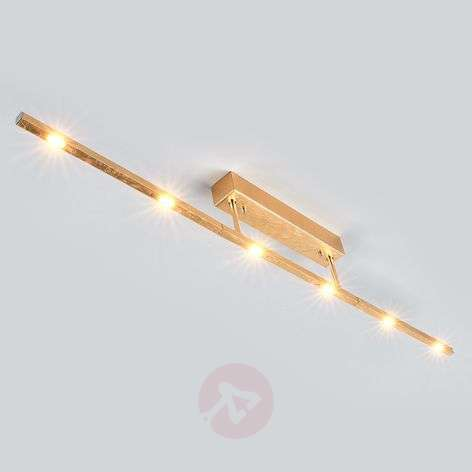 Noble LED ceiling lamp Tolu, antique gold finish-6722291-31