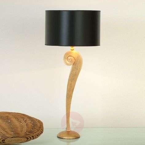 Noble table lamp LORGOLIOSO in gold-black-4512121-31