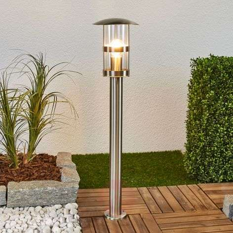 Noemi stainless steel path lamp for outdoors