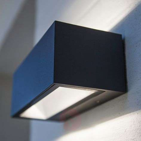 Nomra two-sided illuminating LED outdoor wall lamp