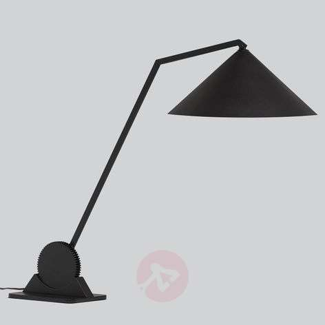 Northern Gear Table - industrial table lamp