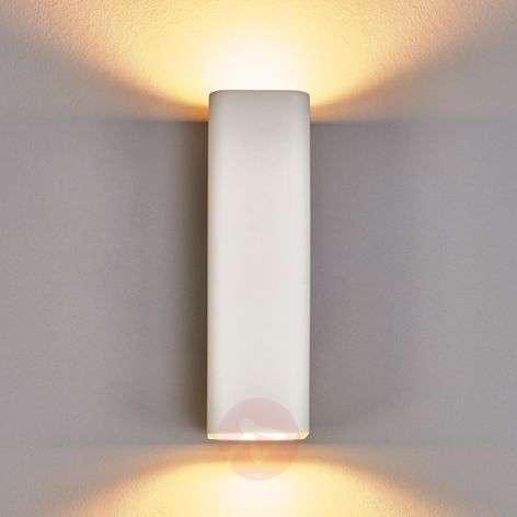 Norwin - 2-bulb rectangular plaster wall light
