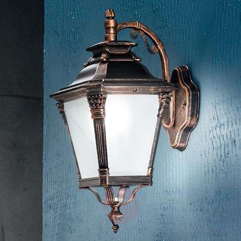 Nostalgic outdoor wall light Viviana, hanging
