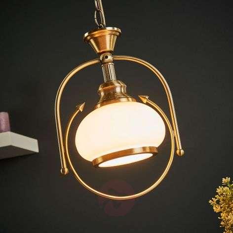 NOSTALGIKA 1 Lamp Ant. Brass Pendant Lamp