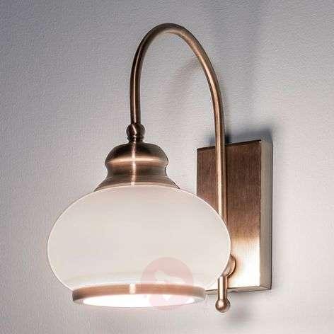 NOSTALGIKA Antique Brass Wall Lamp