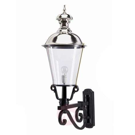 NOTARIS L - outdoor wall light with antique effect
