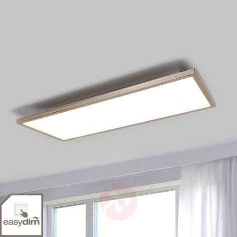 Oblong LED ceiling light Ceres with easydim