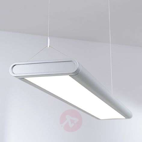 Office pendant light Quirin with bright LEDs