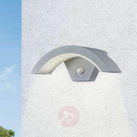 Ohio LED outdoor wall light, sensor, titanium col.-9004659-32