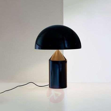 Oluce Atollo - aluminium table lamp, 35 cm