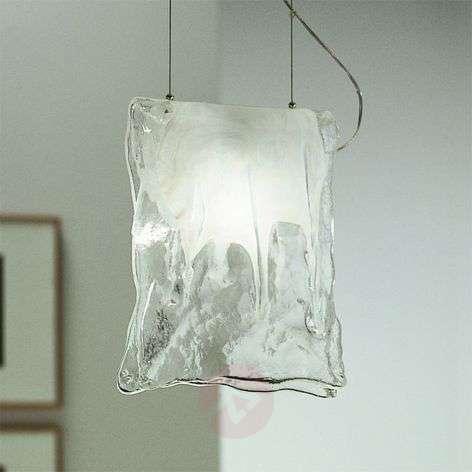 One-bulb MURANO hanging light