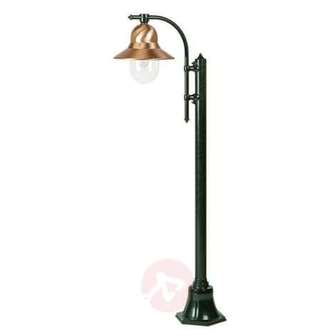 One-bulb post light Toscane 150cm