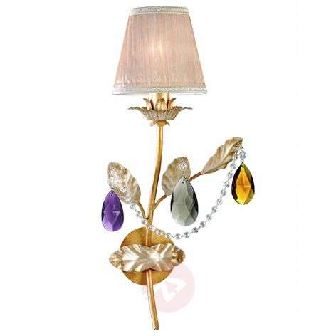 One-bulb wall light Ilaria in the Florentine style
