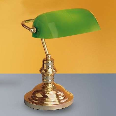 Onella table lamp, green-7253629-31