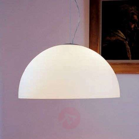 Opal glass hanging light Sonora