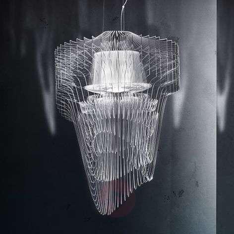 Opulent Aria designer LED hanging light, 90 cm