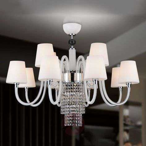 Opulent chandelier Marina, 12-bulb
