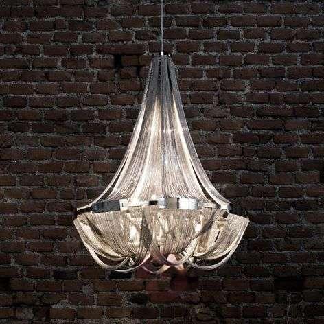 Opulent Soscik designer hanging light, 72 cm