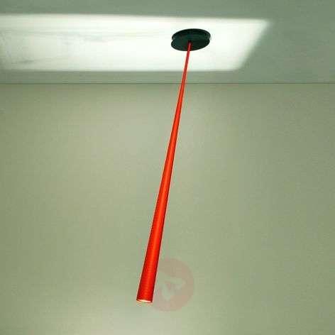 Orange designer hanging light Drink Color