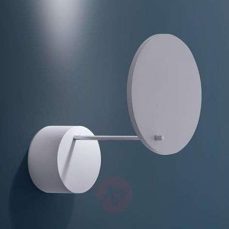 Orbiter white LED wall light