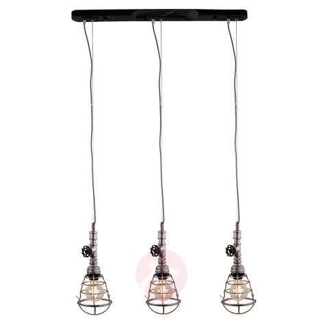 Original pendant lamp Pipe three-bulb