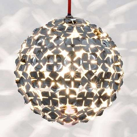 Ortenzia hanging light with floral design