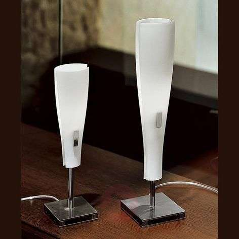 Oslo table lamp, handblown glass