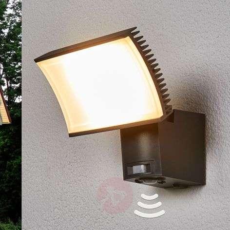 OSRAM Floodlight LED outdoor spot sensor 40 W grey